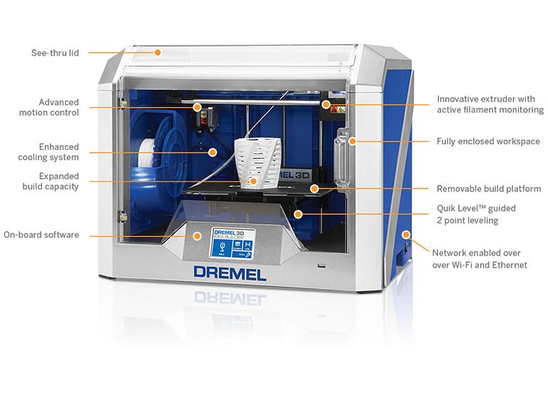 Dremel 3D40 Idea Builder Features