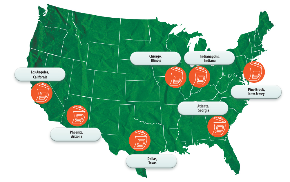 Our United States locations