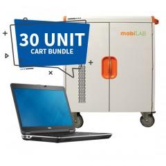 30-Unit Dell Latitude E6440 & Cart Bundle