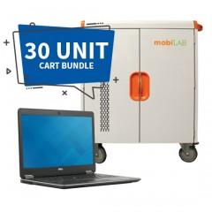30-Unit Dell Latitude E7440 & Cart Bundle