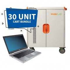 30-Unit HP Elitebook 8470 & Cart Bundle