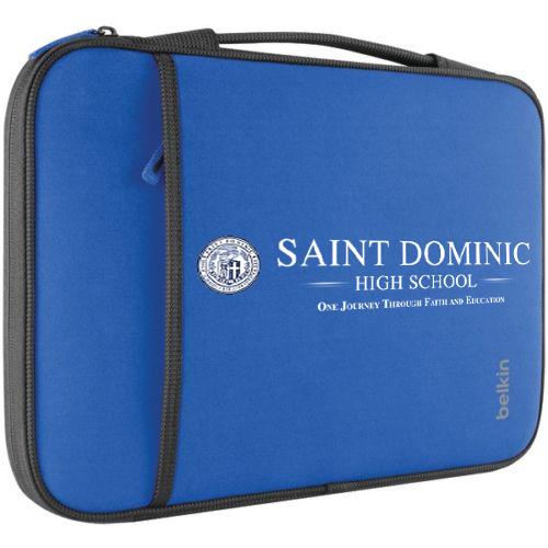 St Dominic High School Belkin B2B081-C01 Mockup