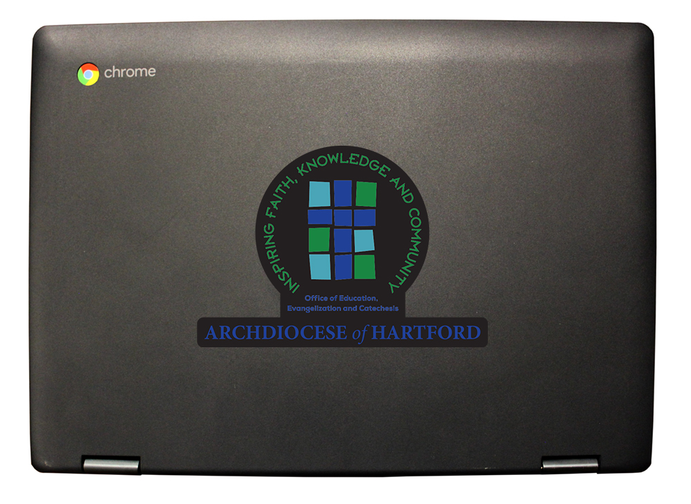 Archdiocese of Hartford eduGear Chromebook CMT UV Printing