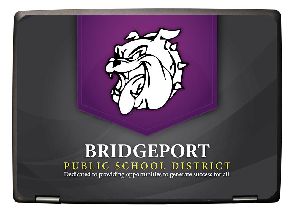 BridgeportPSD-eduGear-Chromebook-CMT-Mockup-Skin-UV-Printing School Branding