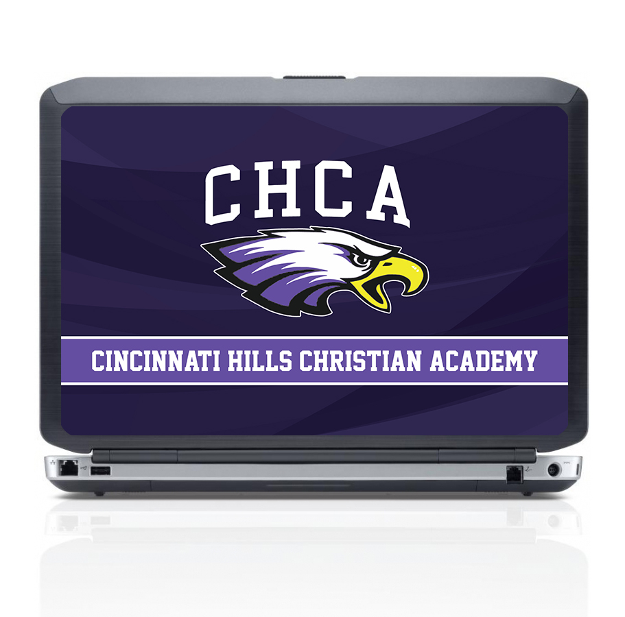 Cincinnati-Hills-Christian-Academy_Dell_Latitude_5450_Mockup_UV_Printing School Branding