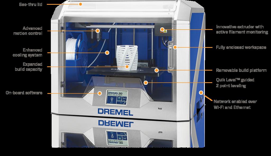 Dremel_3D40_keyfeatures-1024x590 3D Printers