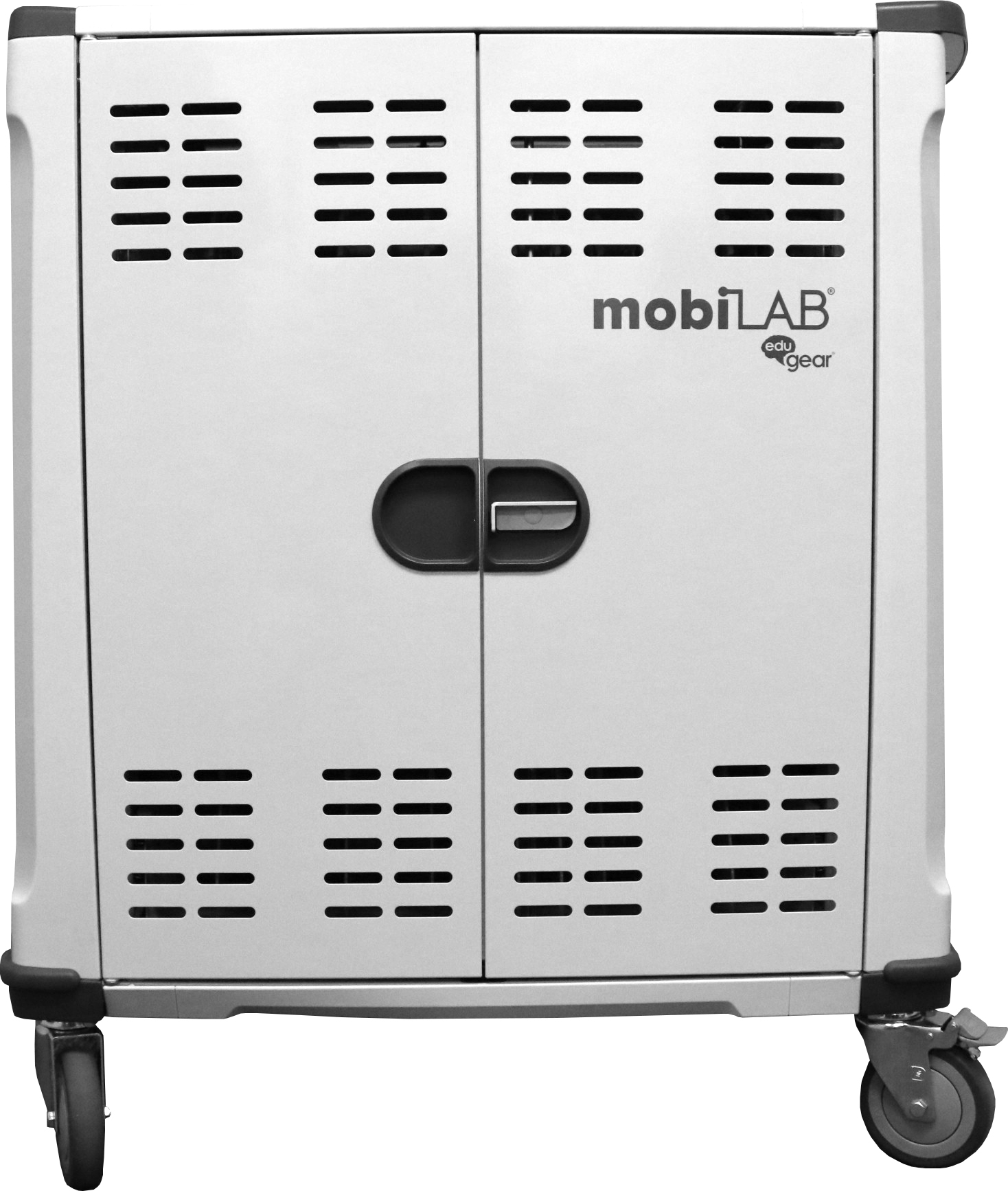 mobiLAB_MN142VS_Front1 CDI Announces New 42-Device Charging Cart – The MN142VS mobiLAB® charging cart by eduGear®